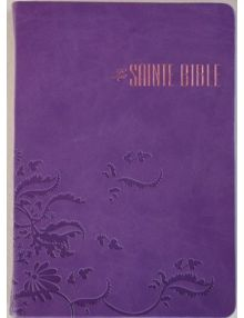 Bible Louis Segond souple similcuir Parme Arabesques Esa 766