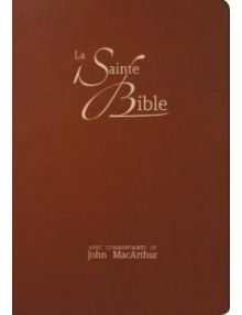 La Sainte Bible (commentaires de John MacArthur) NEG17445