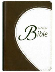 Bible Compacte Segond 1910 Couverture souple duo tranches dorées et ruban