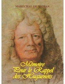 Mémoire pour le rappel des Huguenots