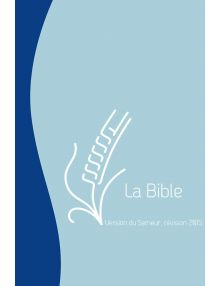 Bible du Semeur 2015, bleue avec zip