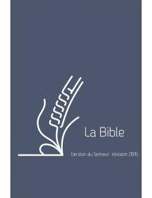Bible du Semeur 2015, bleue couverture lin