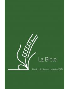 Bible du Semeur 2015, verte couverture lin