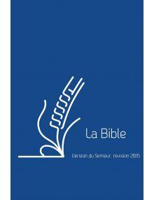 Bible semeur 2015 poche - bleue - tranche blanche - Zip
