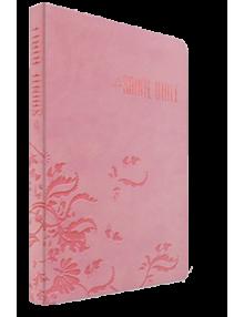 Bible Louis Segond 1910 Rose clair Arabesques - Ref Esa902