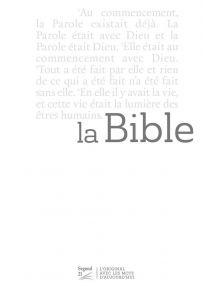 Bible Segond 21 slim blanche