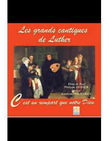 CD - Les grands cantiques de Luther