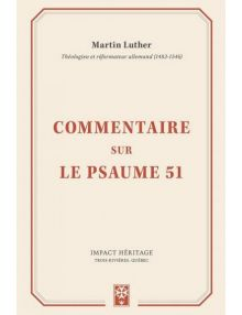 Commentaire sur le Psaume 51 (Martin Luther)