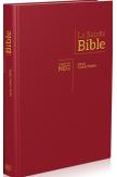 Bible NEG Segond 1979 Gros caractères. Grenat. Rigide.Tranche blanche
