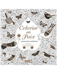 Colorier en paix , promenades méditatives