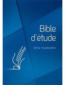 Bible d'étude Semeur 2018 rigide bleue