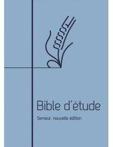 Bible d'étude Semeur 2018 souple bleue