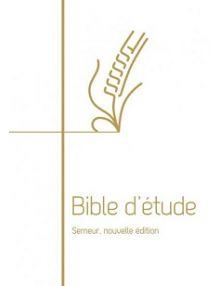 Bible d'étude Semeur 2018 rigide blanche