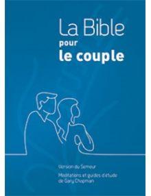 La Bible pour le couple, rigide quadri bleu