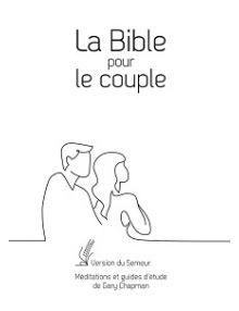 La Bible pour le couple, blanche, tranche dorée