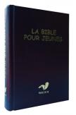 La Bible pour jeunes rigide bleue. Edition protestante