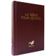 La Bible pour jeunes rigide rouge. Edition avec les livres deutérocanoniques