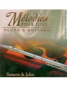 CD Mélodies pour Dieu : Flute et Guitare