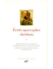 Écrits apocryphes tome 1