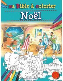 Ma Bible à colorier Noël