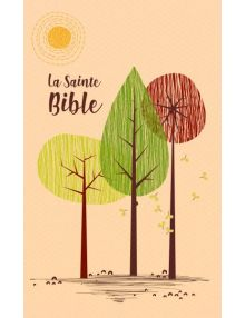 Sainte Bible Louis Segond 1910 tranche or beige