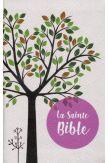 Sainte Bible Louis Segond 1910 tranche rose pâle