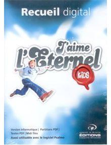 CD Rom Recueil digital J'aime l'Eternel Kids