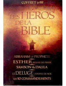Coffret les Héros de la Bible 6 DVD