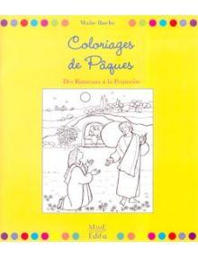 Coloriage Paques Eveil A La Foi.Coloriages De Paques Des Rameaux A La Pentecote Librairie