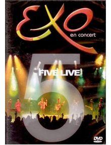 DVD Five Live