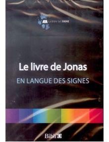 DVD Le livre de Jonas en langue des signes