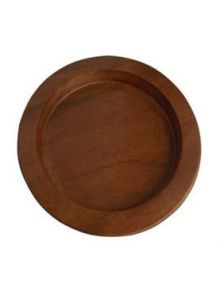 Assiette à pain en bois Acajou foncé (Service de Sainte cène)