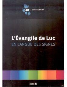 DVD L'Evangile de Luc en langue des signes