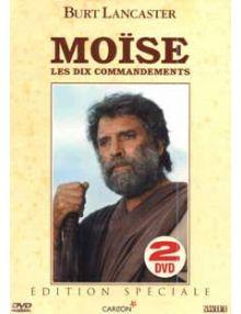 DVD Moïse Les dix commandements