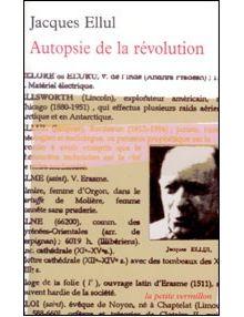 Autopsie de la révolution