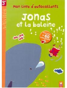 Jonas et la baleine - mon livre d'autocollants