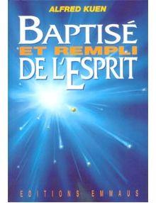 Baptisé et rempli de l'Esprit