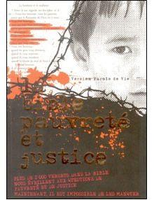 La Bible pauvreté et justice - version Parole de Vie
