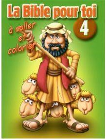 La Bible pour toi à coller et à colorier n°4