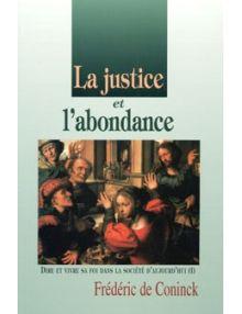 La justice et l'abondance