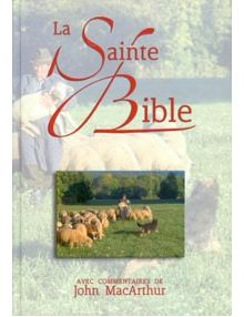 La Sainte Bible (commentaires de John MacArthur) NEG17431