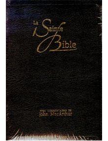 La Sainte Bible (commentaires de John MacArthur) NEG17459