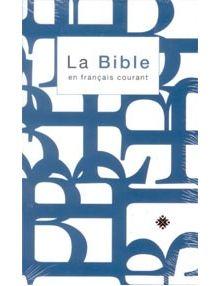Bible Français Courant standard ref 1005 T