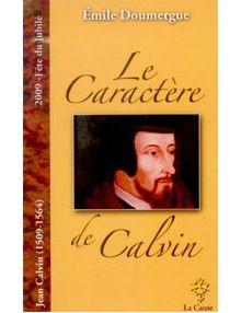 Le caractère de Calvin