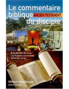 Le commentaire biblique du disciple Ancien Testament