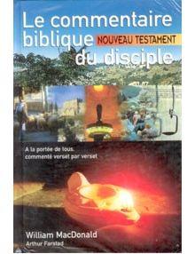 Le commentaire biblique du disciple Nouveau Testament