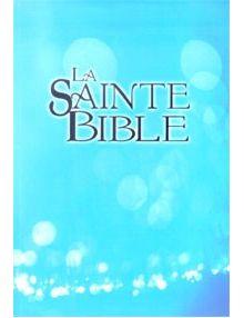 Bible Louis Segond 1910 souple bleu ciel ESA260
