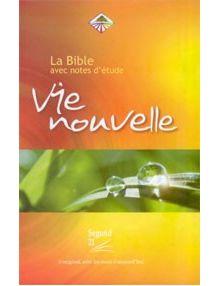 Bible Segond 21 d'étude Vie Nouvelle couverture rigide