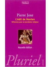 L'édit de Nantes: réflexions pour un pluralisme religieux