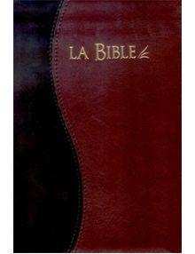 Bible Segond 21 duo noir bordeaux ref.12296